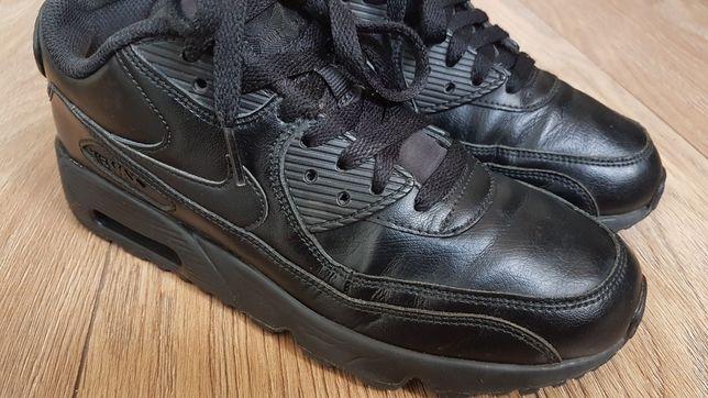 Buty Nike Air Max 90  Leather Black rozmiar 38,5 okazja