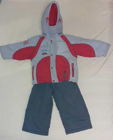 Зимний костюм (куртка и полукомбинезон) Bilemi на рост 92 см