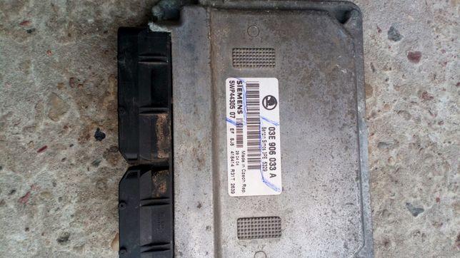 skoda fabia 1.2 kombi, 2004r - komputer sterownik silnika