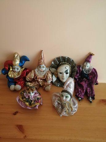 Figurki pajacyki pierot