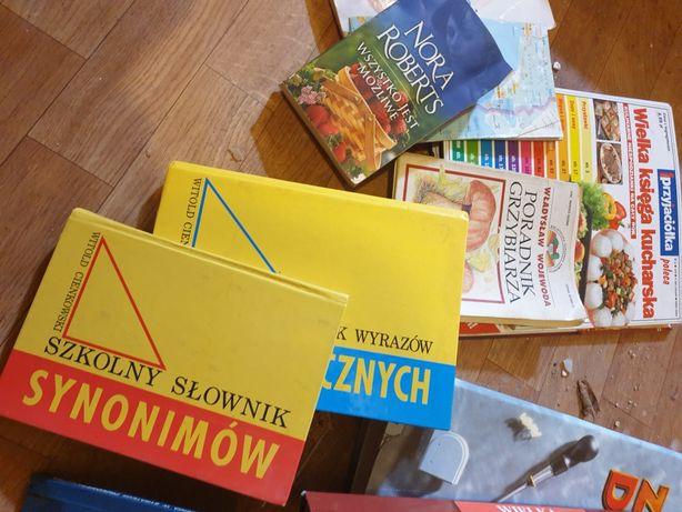 Książki,segregatory różne