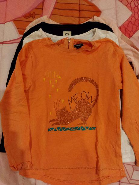 Conjunto de quatro camisolas de manga comprida