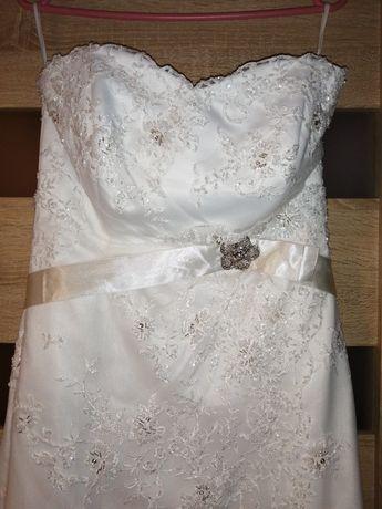 Suknia ślubna regulowana, piękna.