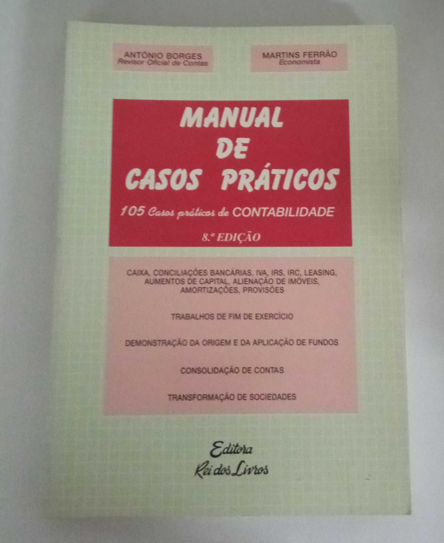 Manual de Casos Práticos, de António Borges e Martins Ferrão