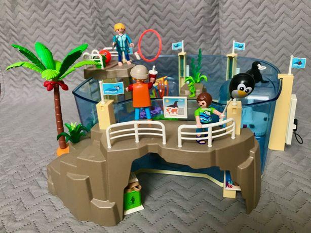 Playmobil zestaw basen, oceanarium, fokarium.
