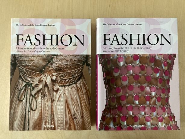 """""""Fashion: A History From the 18th to the 20th Century"""" 2 WIELKIE TOMY"""