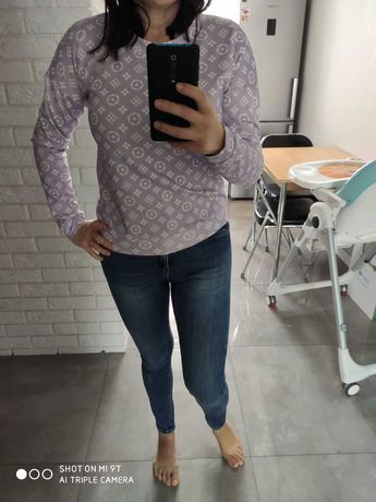 Bluza we wzorki rozmiar s