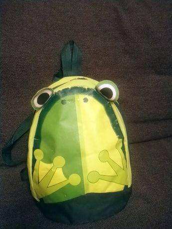 Plecaczek żabka