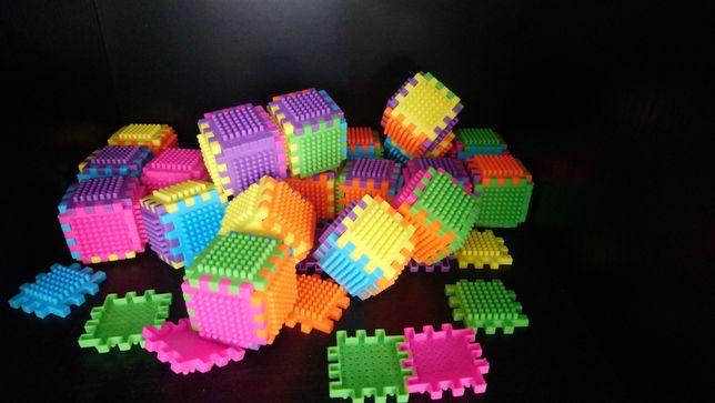Klocki wafle małe mini clicki waffle zamienie tez na megablocks lego