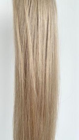 Шикарный блонд! Натур. словянка! Волосы для наращивания!