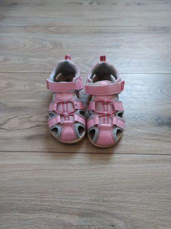Buty sandały dla dziewczynki 28 różowe YoungStyle
