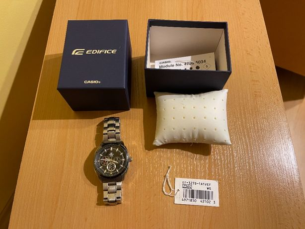 Zegarek męski Casio Edifice EF-327D-1A1VEF CHRONOGRAF pełen komplet!