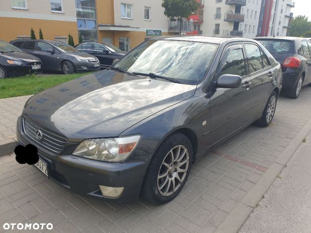 Lexus IS Lexus is200 wydech HKS manual gaz