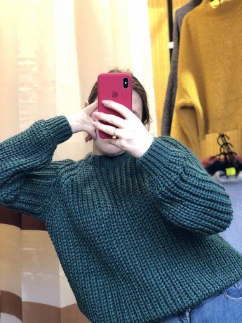 В'язані кофти жіночі женские свитера в'язка оверсайз світер жіночий