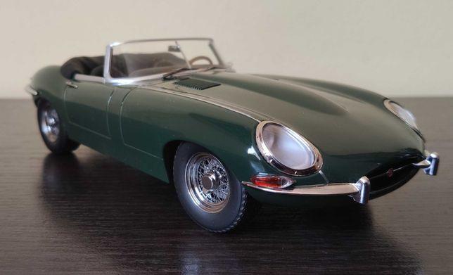 Jaguar E type Cabrio KK Scale 1:18