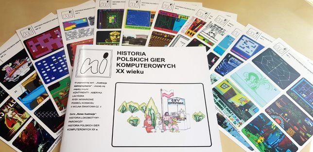 Historia Polskich Gier Komputerowych XX wieku Album dla Kolekcjonerów