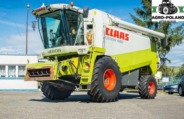 Комбайн CLAAS LEXION 480 - 2712 м/ч - 2002 - жатка 7,5 M - 3D