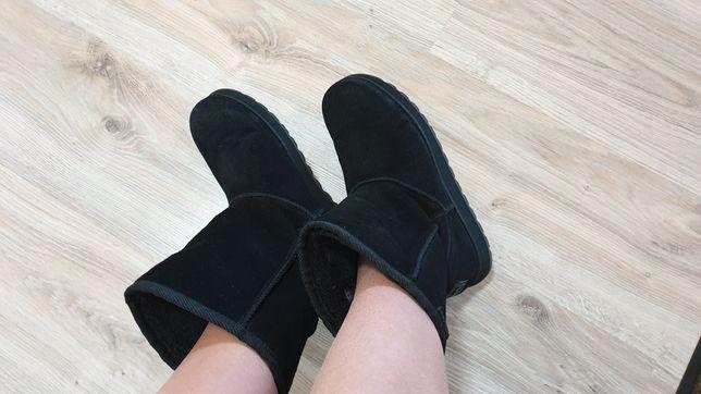 угги ботинки сапоги ugg натуральная замшаа