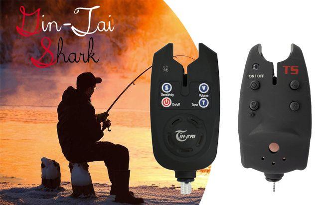 Сигнализатор поклевки с раъемом под свингер для рыбалки с кроной