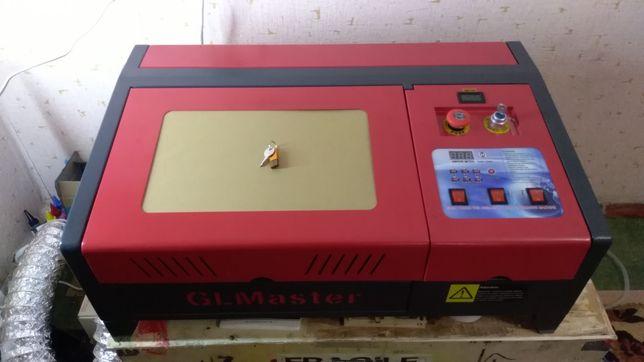 Лазерный СО2 станок ЧПУ 40 Ват (Рабочее поле 30 х 20 см)