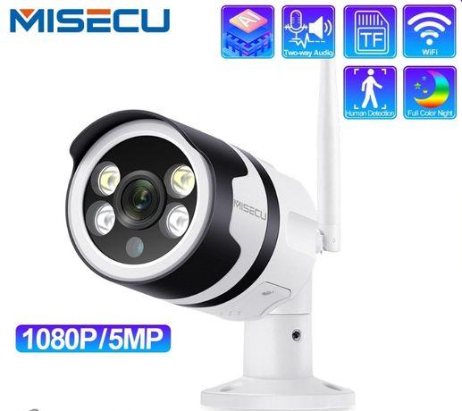 Câmera Vídeo Vigilância WIFI 1080P Exterior * 4 Led's Visão Noturna