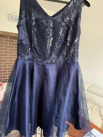 Sukienka granatowa rozmiar 44