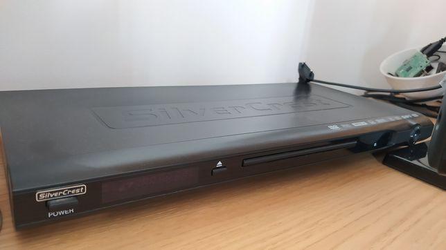 Leitor DVD e CD c/ cabos e comando originais