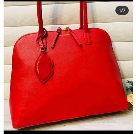Новая!дорогого бренда сумка!кожа.