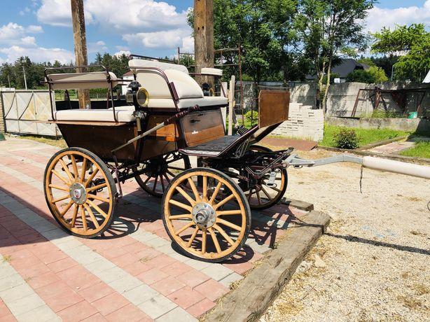 Sprzedam piękną wagonetkę firmy Glinkowski bryczka powóz konny