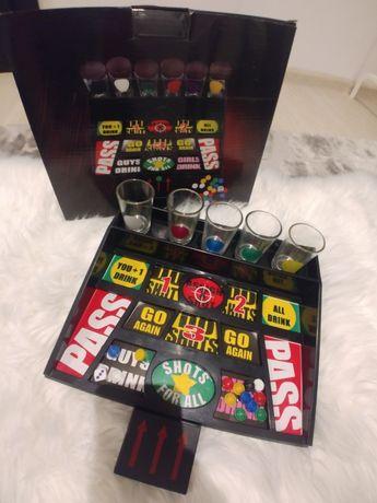 Zestaw kieliszków gra towarzyska plansza party zestaw