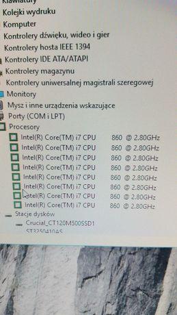 Zamienię PC na laptopa. i7, 8gb ram, csgo 150-300fps,