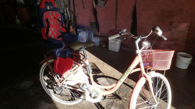 Bicicleta mulher tipo pasteleira