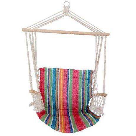 Cadeira de Rede Suspensa 100x50cm multicolor