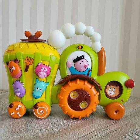 Интерактивная игрушка Ouaps - Трактор дяди Вани