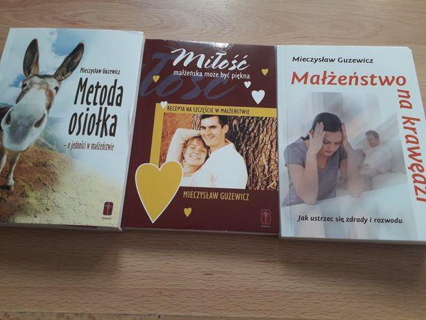 Guzewicz M. Metoda Osiołka,Miłość Małżeńska może być piękna 3 książki