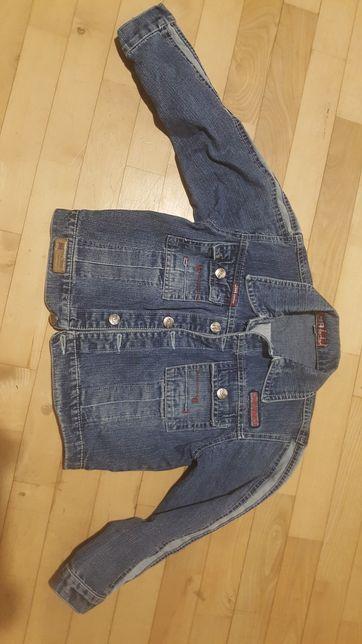 Kurtka jeans dla dziewczynki 122