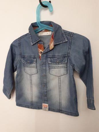 Koszula jeansowa na 12-18 mcy