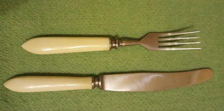 Кухонне приладдя (ножі, виделки)