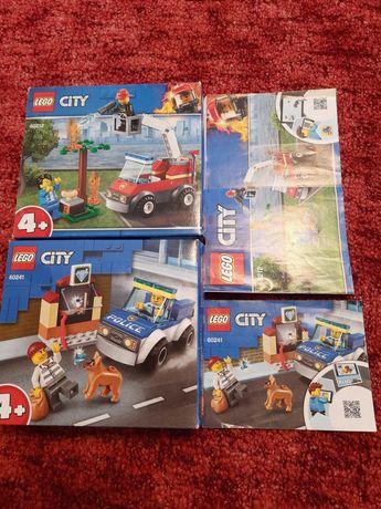 Lego straż pożarna i włamywacz napad na jubilera