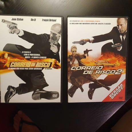FIlmes em DVD The Transporter 1 e 2