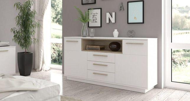 STUDIO – biała komoda do salonu komoda do sypialni / DOWÓZ GRATIS