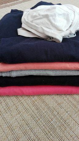 Ubrania dla kobiet w ciąży SUPER ZESTAW gratis kosmetyki
