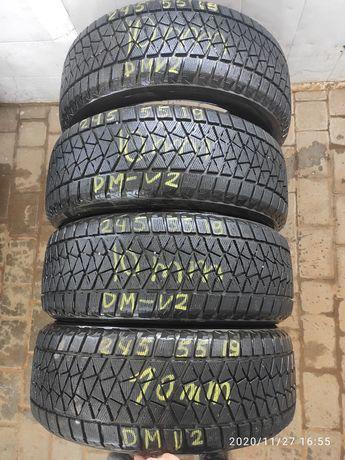Шини зимові 245 55 19 Bridgestone Blizzak DM-V2 10мм,