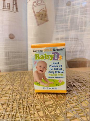 CGN жидкий витаминD3 для детей, 10мкг (400МЕ), 10мл