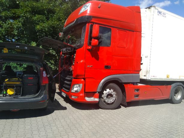 Mobilny serwis klimatyzacji Osobowe Dostawcze Ciężarowe Rolnicze BUS