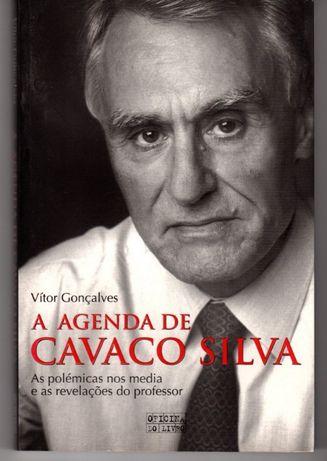 Livro 'A agenda de Cavaco Silva' de Vítor Gonçalves