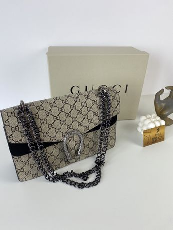 Torebka damska Gucci Dionysus premuim GG w pudełku logowanym