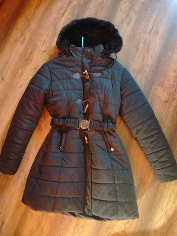 Kurtka-płaszcz zimowy r.L