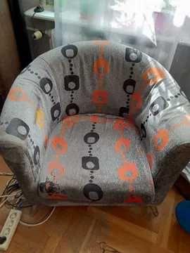 Fotel kolorowy