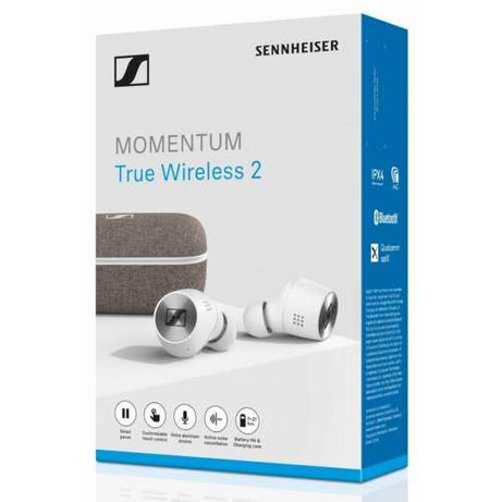 Słuchawki bezprzewodowe SENNHEISER Momentum 2 True Wireless 56m GWAR+